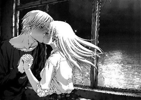 anime btooom kiss btooom himiko x sakamoto ryouta kiss manga ch 50 p 33