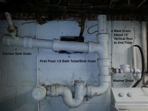plumbing system repair suggestions  year  house