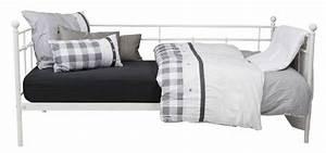 Metallbett Ikea Weiß : metallbett wei bett einzelbett und jugendzimmer ~ Watch28wear.com Haus und Dekorationen