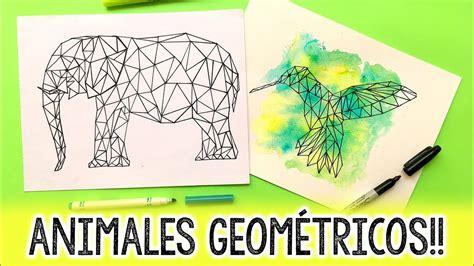 como hacer animales geometricos barbs arenas art youtube