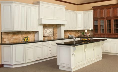 kitchen cabinets antique white glaze antique white kitchen cabinets with chocolate glaze home 7996