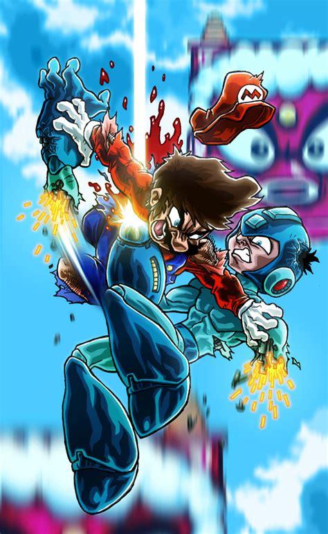 Mario Vs Megaman Classic Battles Comic Vine