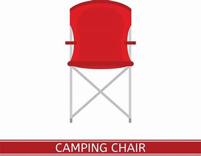 Chair Folding Clip Vector Camping Illustrations Icon
