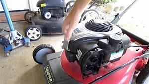 Diagram  Brigg Stratton Lawn Mower Carburetor 125cc 45