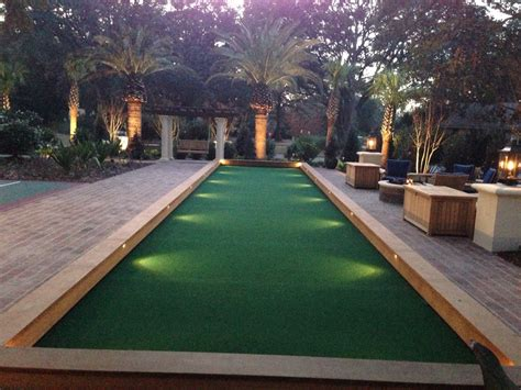 size of bocce court bocce ball court size awesome bocce ball court wedgelog design