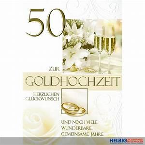 Glückwunschkarten Zur Goldenen Hochzeit : gl ckwunschkarte goldene hochzeit 50 72h1112 ~ Frokenaadalensverden.com Haus und Dekorationen