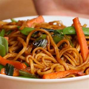 Veggie Garlic Noodles Recipe By Tasty
