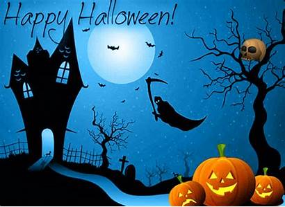 Halloween Happy Animated Pumpkins Laughing Greeting