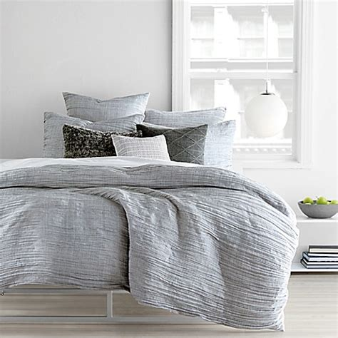 DKNY City Pleat Duvet Cover Set Bed Bath & Beyond