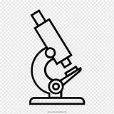 Microscope Outline Coloring Diagram Toys Drawing Party sketch template