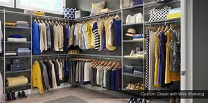 Affordable Wire Closets Design & Storage Shelving