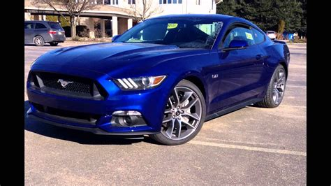2016 Ford Mustang Gt Deep Impact Blue