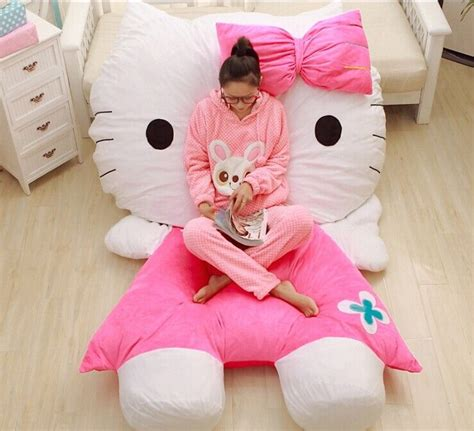 pikachu bed  kitty bed furniture floor chair beanbag