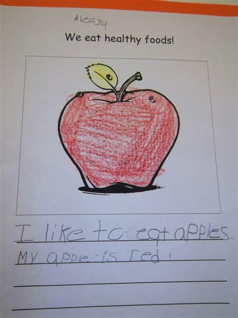 kindergarten   healthy food lunchroom poster