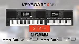 Yamaha Psr S970 Gebraucht : yamaha psr s770 psr s970 style akompaniament w ~ Kayakingforconservation.com Haus und Dekorationen