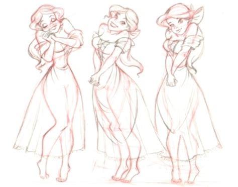 concept art   disney princess