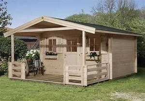 Gartenhaus Mit Vordach : weka gartenhaus 28 mm 110 b gr 2 natur 460x590cm vordach terrasse bei ~ Udekor.club Haus und Dekorationen