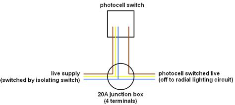 Wiring Photocell Switch Unit But Not Inline
