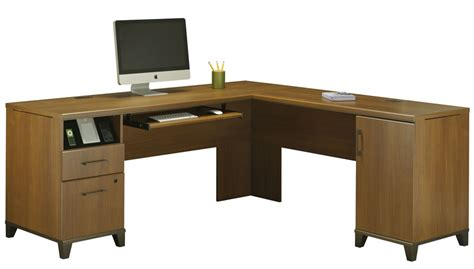 oak computer desk with drawers achieve l shaped computer desk with file drawer in warm