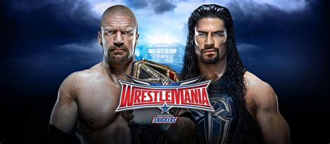 booking  finish triple    roman reigns