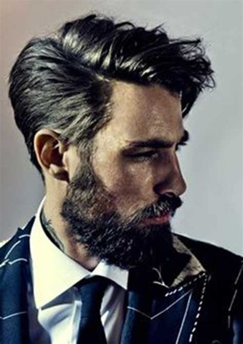 mid length hairstyle  men   mens
