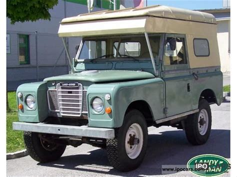 land rover series 3 off road 1972 land rover series series 3 car photo and specs