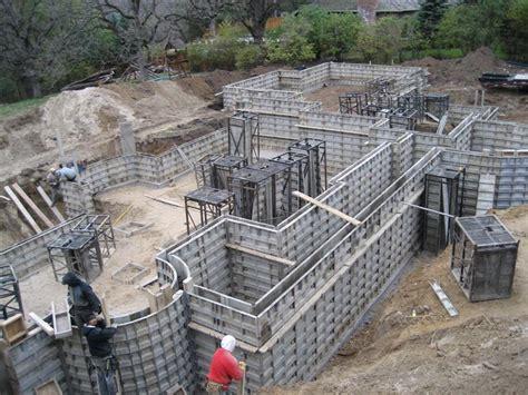 pouring concrete walls poured walls minnesota valley concrete carver mn