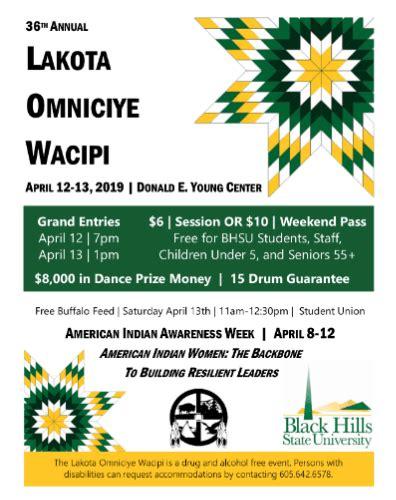 annual lakota omniciye wacipi pow wow calendar