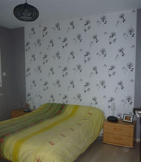 chantemur papier peint chambre chambre fleurie photo 2 2 papier peint chantemur