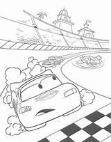 Coloring Track Pages Getcolorings Pixar sketch template