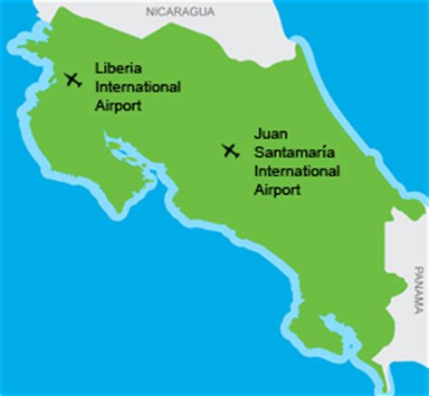 costa rica  favored  top airlines   flights