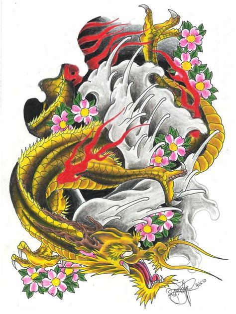 dragon tattoo flash hd deviantart   japanese phoenix full sleeve  dude  picturejpg
