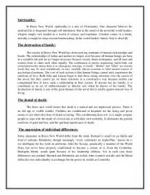 Creative Essay On Brave New World by Brave New World Essay On Religion Potential Customers