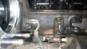 01 Dodge Cummins Oil Leak  Left Side Of Motor