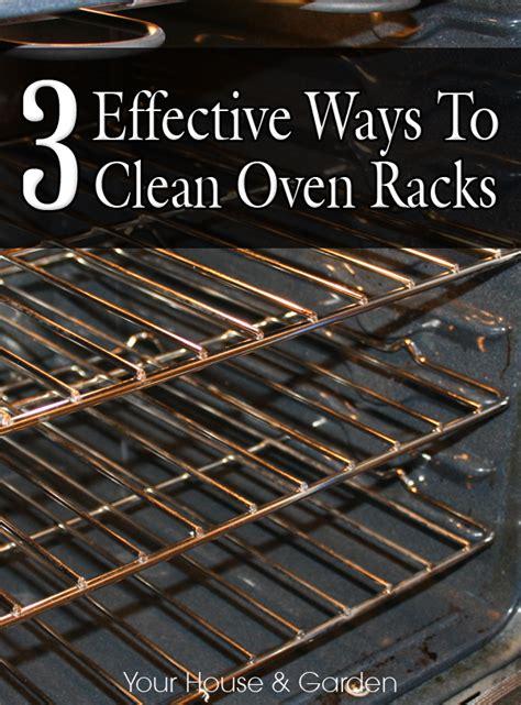 3 Effective Ways To Clean Oven Racks