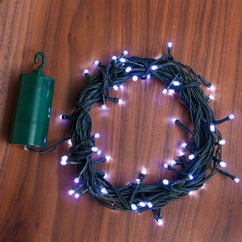 battery operated string lights with timer lights com string lights christmas lights cool white