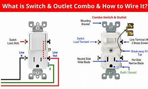 How To Wire Combo Switch And Outlet   U2013 Switch  Outlet Combo