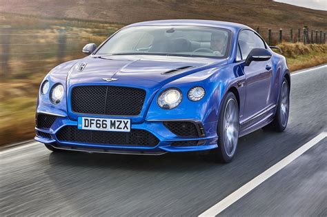 Bentley Car : Bentley Continental Supersports (2017) Review By Car Magazine