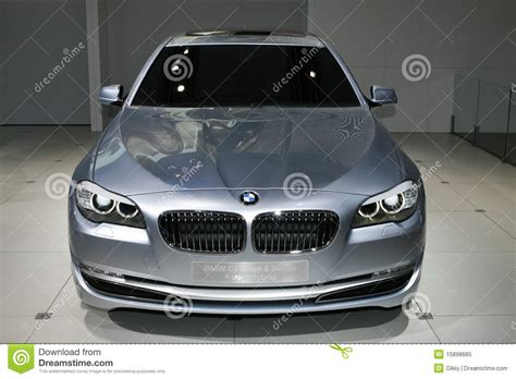 Bmw Concept 5 Series Active Hybrid Editorial Image Image