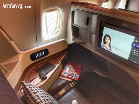Flying Business Class On A Singapore Airlines Boeing 777