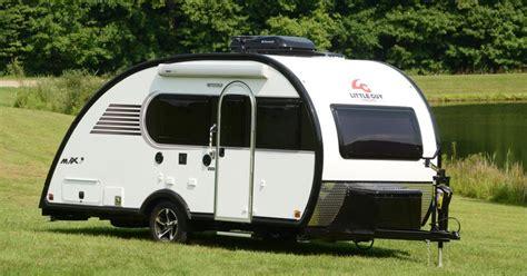 camper trailer blends classic teardrop style