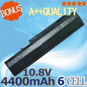 Black Laptop Battery For Acer Aspire One Zg5 571 A110 A150