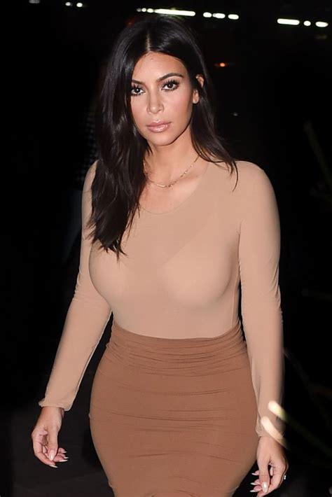 Kim Kardashian Style - Out in Paris, September 2014 ...