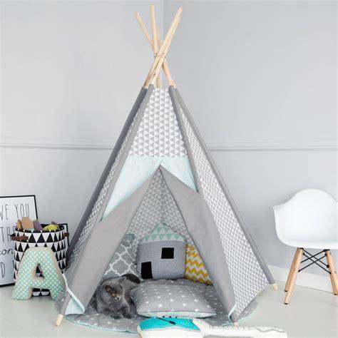 corner floor mat geometric frosty teepee by littlenomad