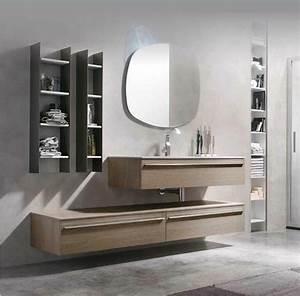 plan de travail pour salle de bain de design italien With plan de travail bois salle de bain