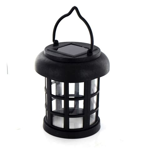 solar powered led hanging garden lantern rechargeable