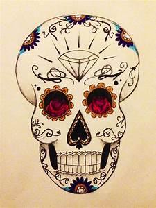 Tete De Mort Mexicaine Dessin : 89 dessin chaque jour 1dessin ~ Melissatoandfro.com Idées de Décoration