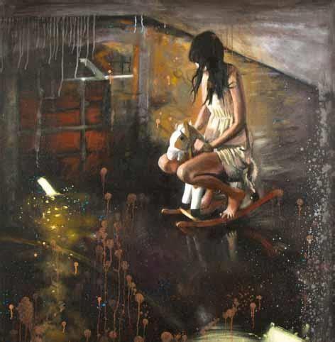 Matthew Hindley Bromance Oil Canvas