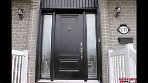 portes d39entree facade de maison front doors youtube With porte interieur de maison