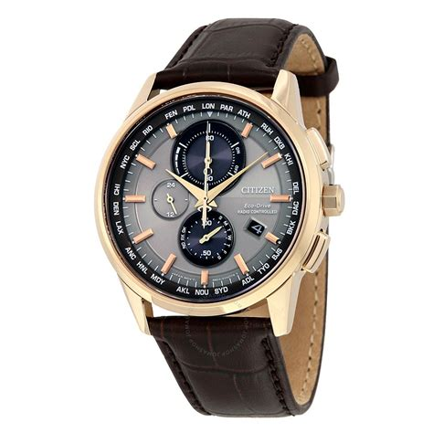 watches for men citizen eco drive world chronograph a t men 39 s watch at8113